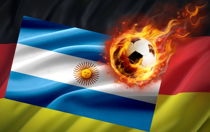 What has happened to the great football nations Argentina and Germany